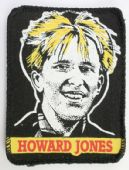 Howard Jones - 'Close Up' Printed Patch